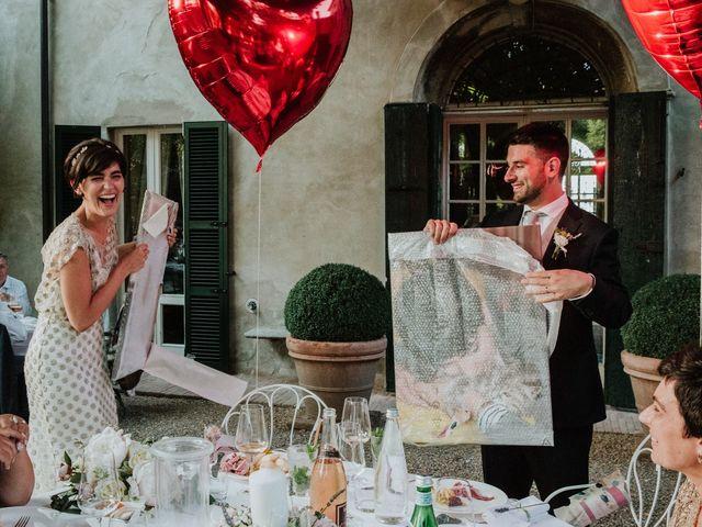 Il matrimonio di Diego e Francesca a Besenzone, Piacenza 69