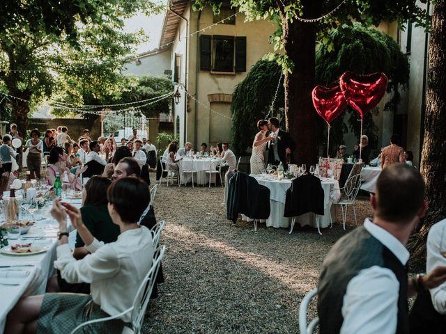 Il matrimonio di Diego e Francesca a Besenzone, Piacenza 70