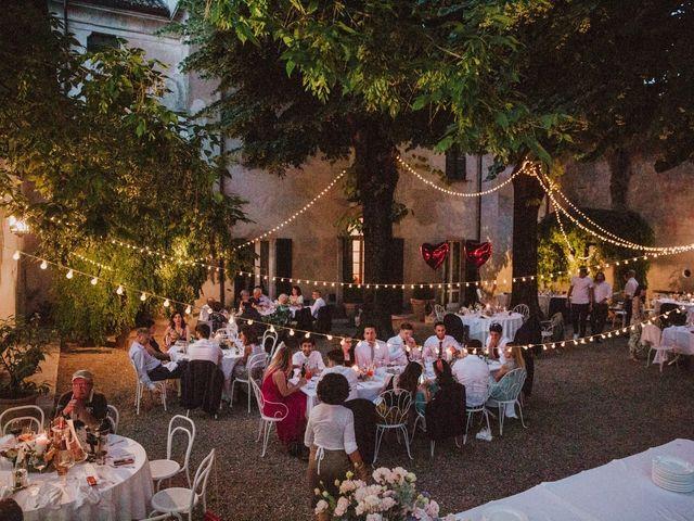 Il matrimonio di Diego e Francesca a Besenzone, Piacenza 71