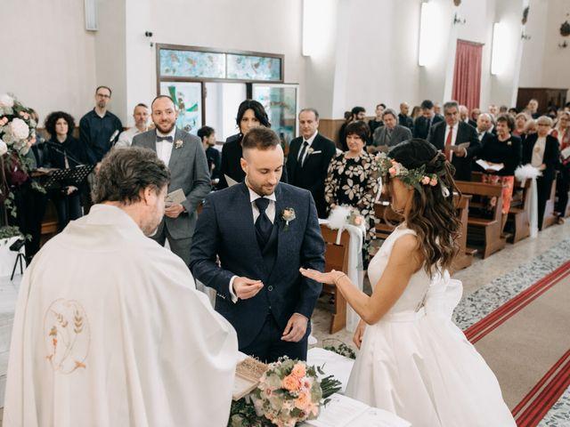 Il matrimonio di Mirco e Martina a Mondolfo, Pesaro - Urbino 55