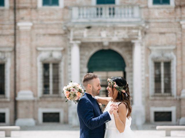 Il matrimonio di Mirco e Martina a Mondolfo, Pesaro - Urbino 78