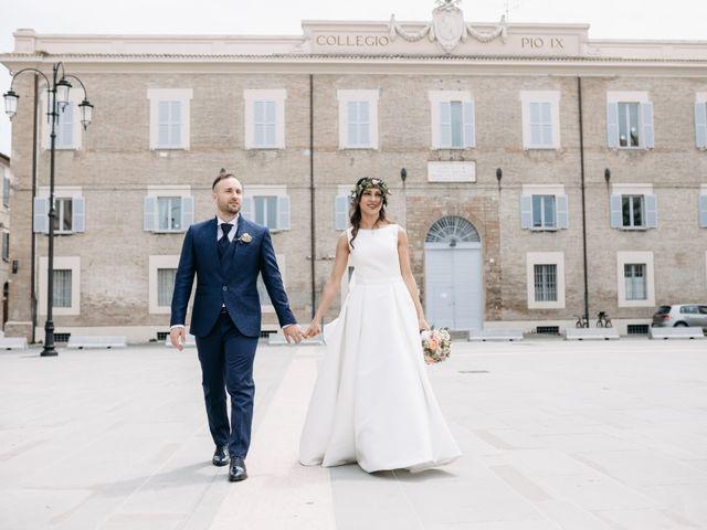 Il matrimonio di Mirco e Martina a Mondolfo, Pesaro - Urbino 80
