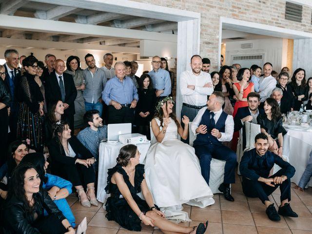 Il matrimonio di Mirco e Martina a Mondolfo, Pesaro - Urbino 105
