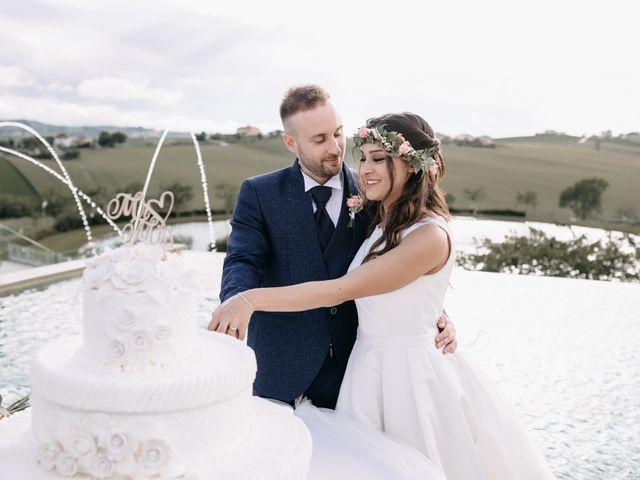 Il matrimonio di Mirco e Martina a Mondolfo, Pesaro - Urbino 107