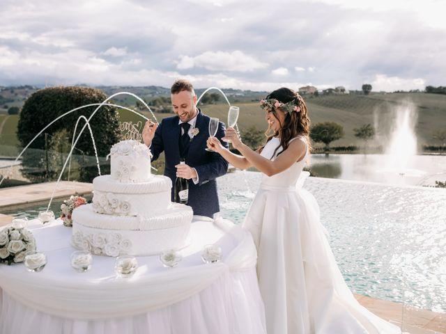 Il matrimonio di Mirco e Martina a Mondolfo, Pesaro - Urbino 108
