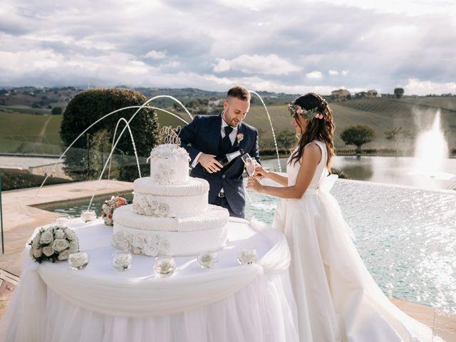 Il matrimonio di Mirco e Martina a Mondolfo, Pesaro - Urbino 109