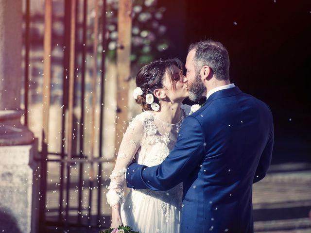 Il matrimonio di Luca e Silvia a Grottaferrata, Roma 13