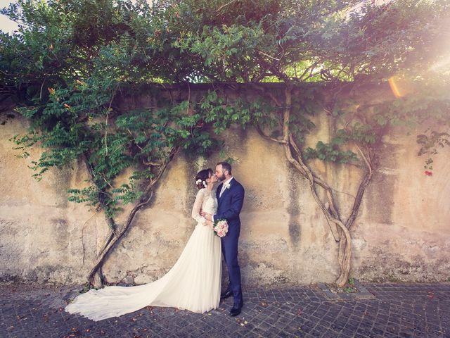 Il matrimonio di Luca e Silvia a Grottaferrata, Roma 14