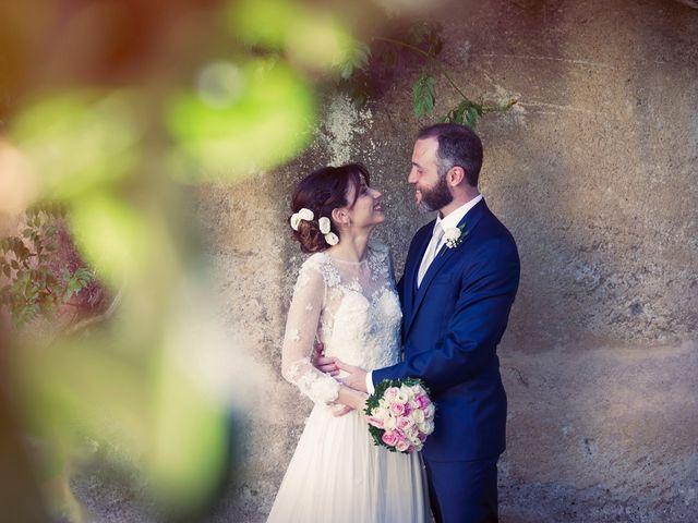 Il matrimonio di Luca e Silvia a Grottaferrata, Roma 15