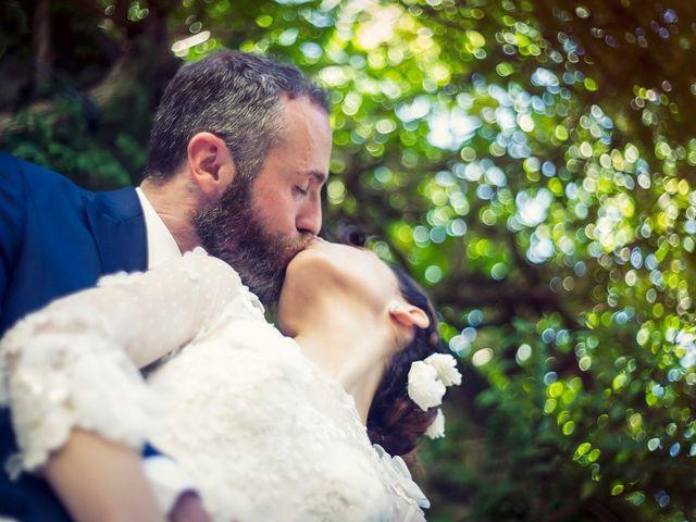 Il matrimonio di Luca e Silvia a Grottaferrata, Roma 1