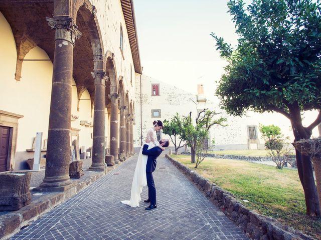 Il matrimonio di Luca e Silvia a Grottaferrata, Roma 16
