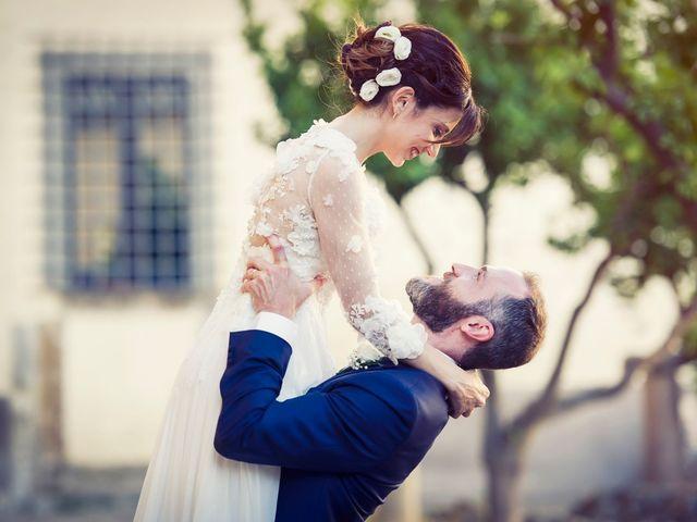 Il matrimonio di Luca e Silvia a Grottaferrata, Roma 17