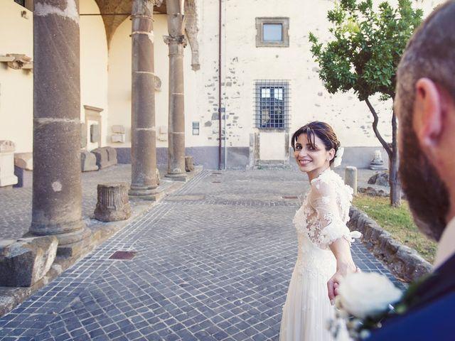 Il matrimonio di Luca e Silvia a Grottaferrata, Roma 18