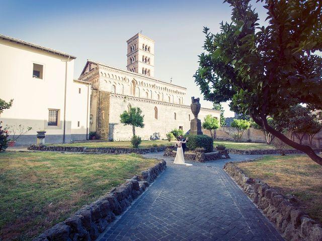 Il matrimonio di Luca e Silvia a Grottaferrata, Roma 20