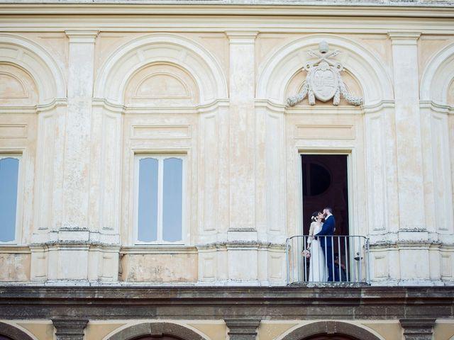 Il matrimonio di Luca e Silvia a Grottaferrata, Roma 24