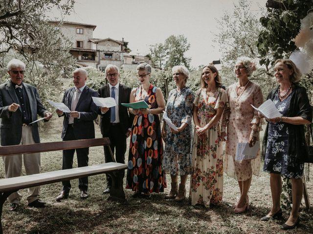 Il matrimonio di Johannes e Silvia a Piglio, Frosinone 30