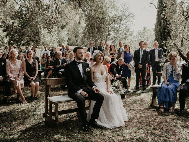 Il matrimonio di Johannes e Silvia a Piglio, Frosinone 32