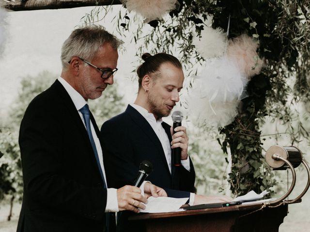 Il matrimonio di Johannes e Silvia a Piglio, Frosinone 33