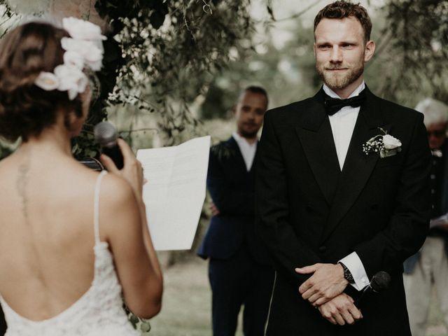 Il matrimonio di Johannes e Silvia a Piglio, Frosinone 35