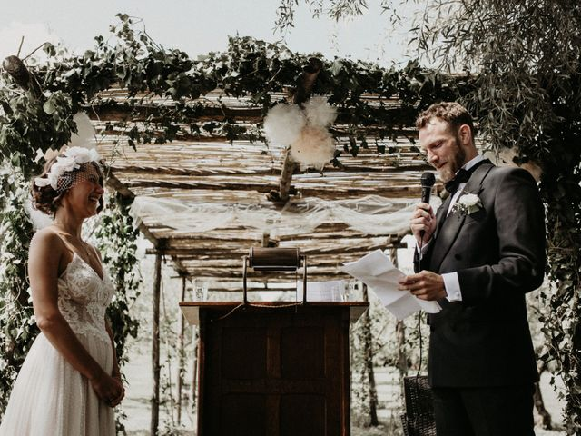 Il matrimonio di Johannes e Silvia a Piglio, Frosinone 39
