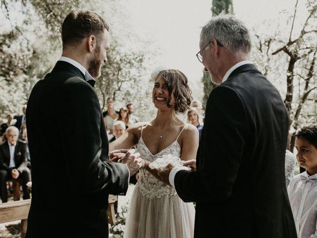 Il matrimonio di Johannes e Silvia a Piglio, Frosinone 42