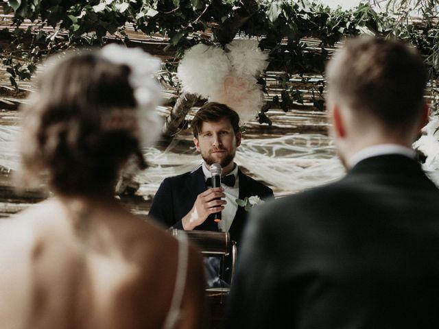 Il matrimonio di Johannes e Silvia a Piglio, Frosinone 45