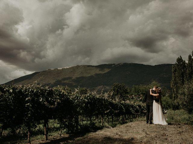 Il matrimonio di Johannes e Silvia a Piglio, Frosinone 50
