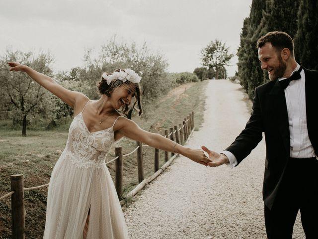 Il matrimonio di Johannes e Silvia a Piglio, Frosinone 53
