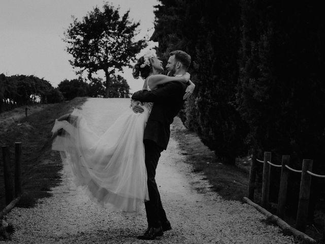 Il matrimonio di Johannes e Silvia a Piglio, Frosinone 54