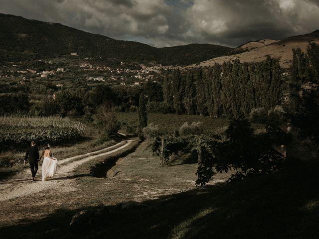 Il matrimonio di Johannes e Silvia a Piglio, Frosinone 55