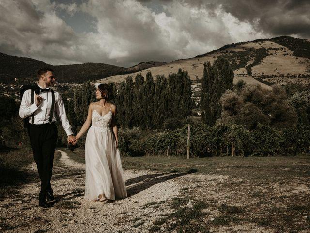 Il matrimonio di Johannes e Silvia a Piglio, Frosinone 56
