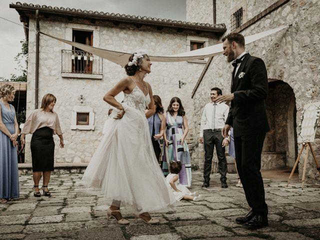 Il matrimonio di Johannes e Silvia a Piglio, Frosinone 59