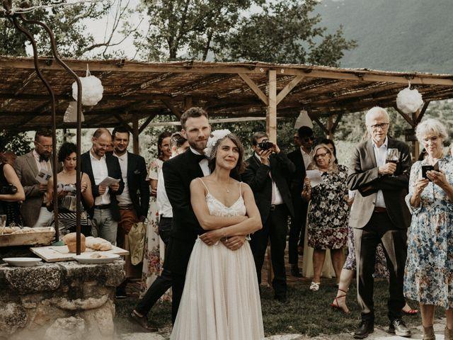 Il matrimonio di Johannes e Silvia a Piglio, Frosinone 61