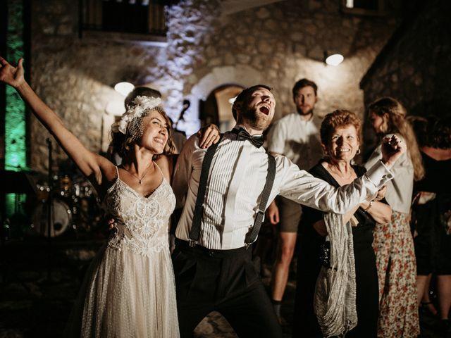 Il matrimonio di Johannes e Silvia a Piglio, Frosinone 73