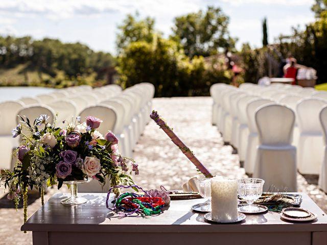Il matrimonio di Sandro e Francesca a Montaione, Firenze 10