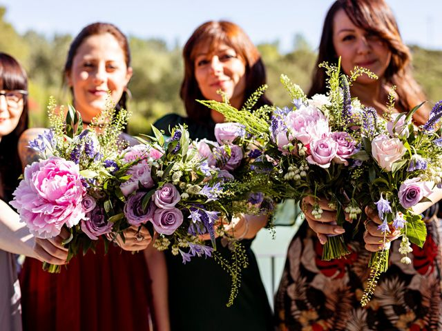 Il matrimonio di Sandro e Francesca a Montaione, Firenze 15