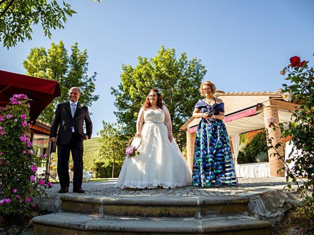 Il matrimonio di Sandro e Francesca a Montaione, Firenze 16