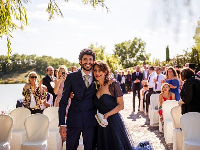 Il matrimonio di Sandro e Francesca a Montaione, Firenze 17