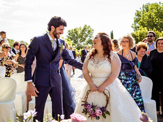 Il matrimonio di Sandro e Francesca a Montaione, Firenze 18