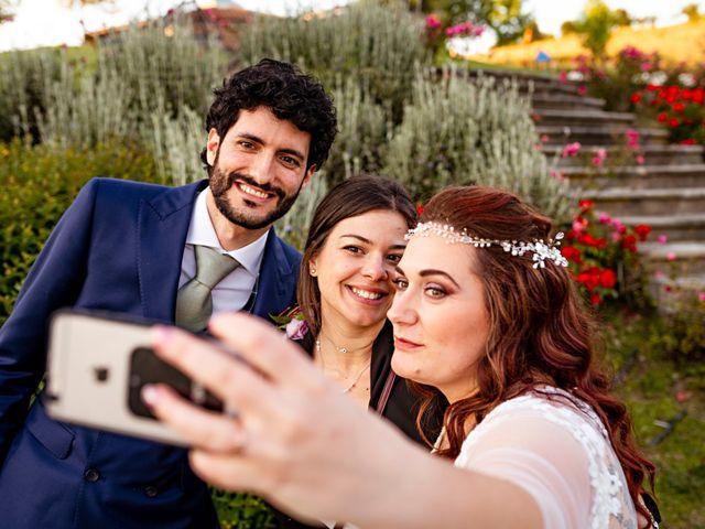 Il matrimonio di Sandro e Francesca a Montaione, Firenze 23