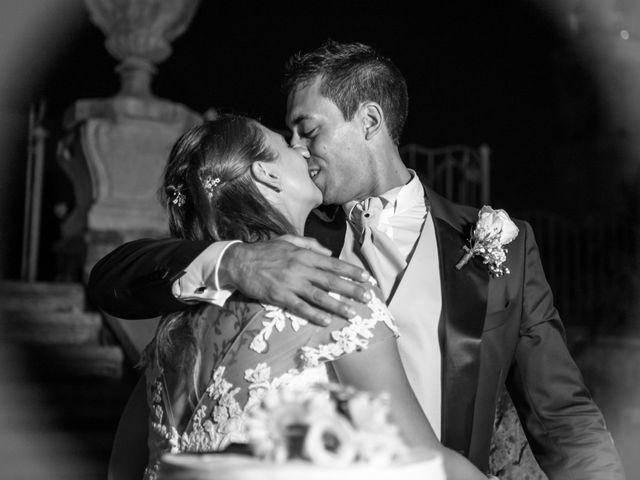 Il matrimonio di Omar e Francesca a Roncello, Monza e Brianza 37