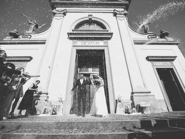 Il matrimonio di Omar e Francesca a Roncello, Monza e Brianza 53