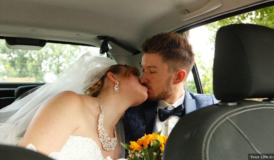 Il matrimonio di Alberto e Lara a Sagrado, Gorizia