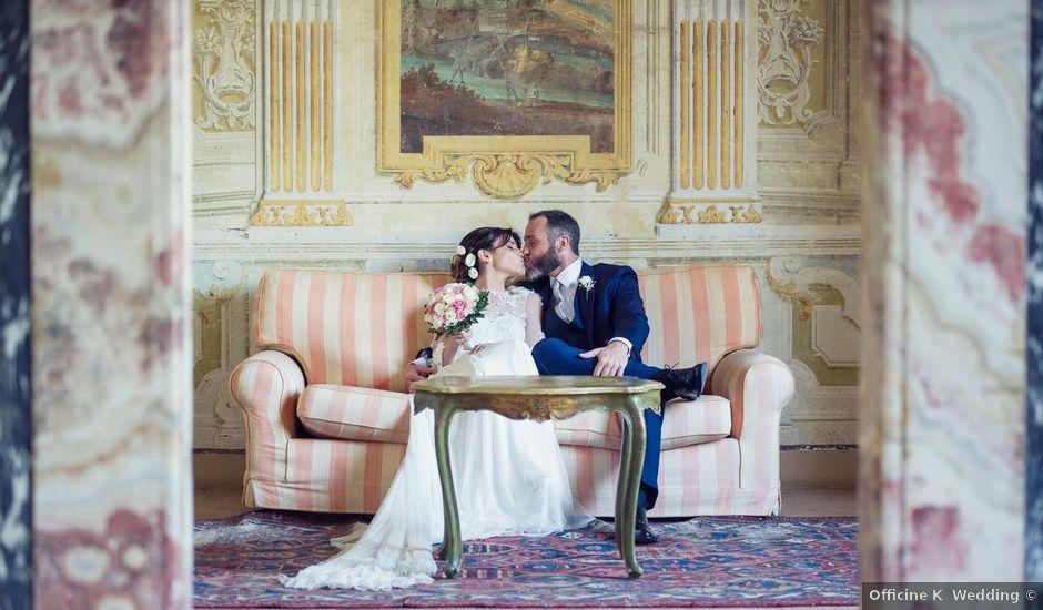 Il matrimonio di Luca e Silvia a Grottaferrata, Roma