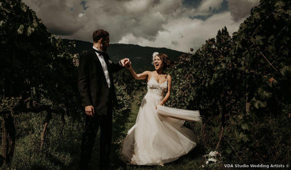 Il matrimonio di Johannes e Silvia a Piglio, Frosinone