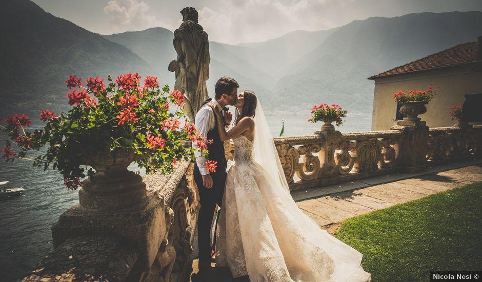 Il matrimonio di Brian e Lucy a Lenno, Como