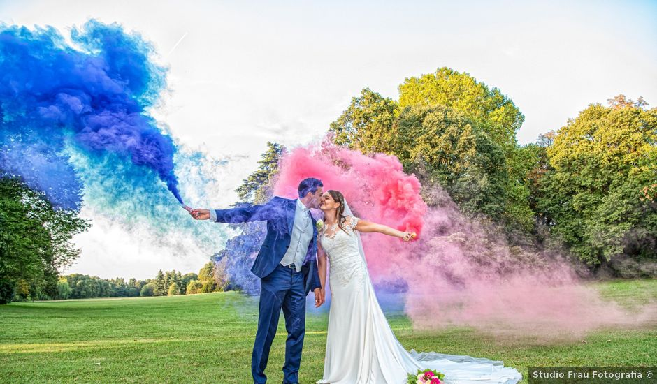 Il matrimonio di Omar e Francesca a Roncello, Monza e Brianza