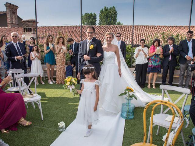 Il matrimonio di Massimiliano e Monica a Travagliato, Brescia 13