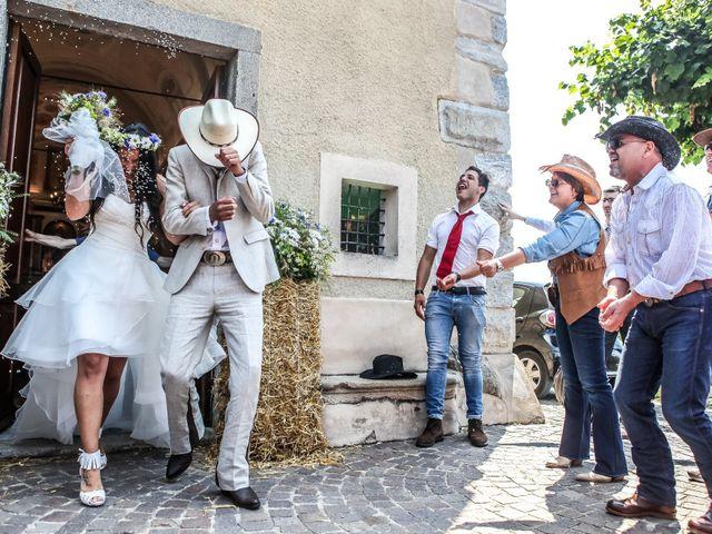 Il matrimonio di Luigi e Erika a Rodero, Como 6