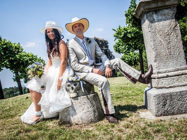 Il matrimonio di Luigi e Erika a Rodero, Como 8